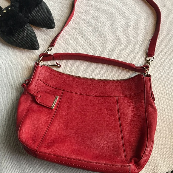 f838823d17 Cole Haan Bags | Red Leather Satchel Bag | Poshmark